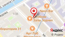 Отель Богема на карте