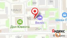 Отель Велес на карте