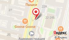 Гостиница Серебряный шар на карте