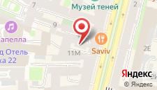 Отель Невский Арт Холл на карте