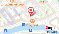 Гостиница Мойка 5 на карте