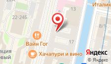 Отель NordKapp Hotel Nevsky на карте