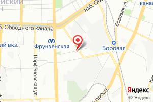 Адрес Водоканал Санкт-Петербурга на карте