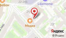 Мини-отель Астери на карте