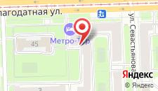 Гостиница Метро-тур на карте