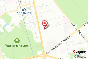 Адрес ГУП Водоканал СПб, филиал Водоснабжение, аварийно-диспетчерская служба на карте