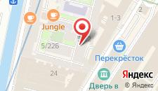 Отель Легендарная Думская на карте