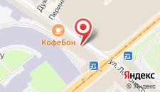 Отель Стоуни Айлэнд на Ломоносова на карте