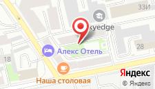 Отель Акцент на карте