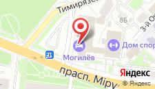 Гостиница Могилев на карте