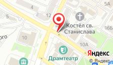 Отель Метрополь на карте