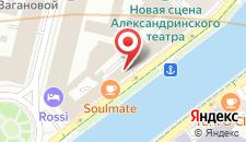 Гостиница Rinaldi Art на карте