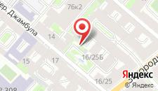 Мини-отель У Камина на карте