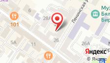 Апартаменты На Комсомольской на карте