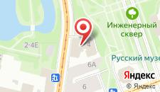 Гостиница Особняк военного министра на карте