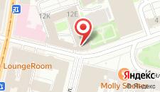 Отель Meridian на карте