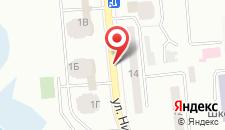 Апартаменты RentOrg Apartment on Ushakova 1V на карте