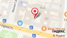 Апартаменты СТН Апартаменты на Невском на карте