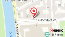 Отель Fjordic by Center Hotels на карте