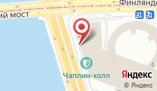 Гостиница Санкт-Петербург на карте
