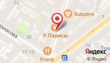 Отель Династия на карте