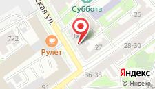 Мини-отель LUXO на карте