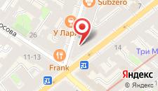 Отель Best Corner на карте