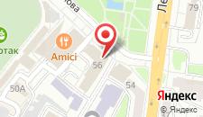 Отель Губернская на карте