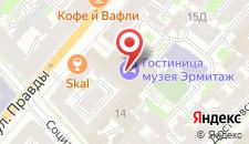 Отель Эрмитаж на карте