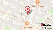 Отель Калейдоскоп на Рубинштейна 13 на карте