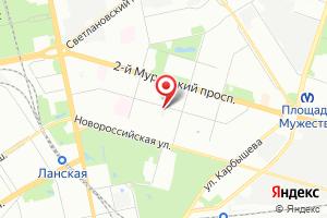 Адрес Водоканал филиал Водоканал Санкт-Петербург на карте