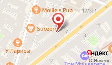 Отель Кристофф на карте