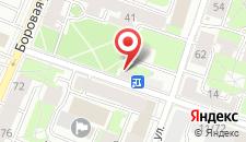 Мини-отель Курская 10 на карте