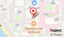 Гостиница Пио на Моховой на карте