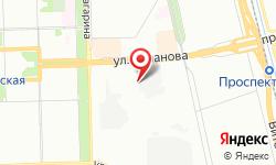 Расположение Электрическая подстанция Чесменская на карте