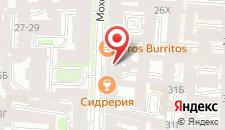 Отель На Моховой на карте