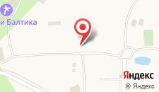 База отдыха Онега на карте