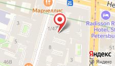 Хостел Center Hostel на карте