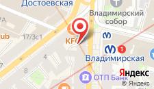 Гостиница Соло на Большой Московской 1 на карте