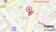 Резиденция Резиденция на Боровой на карте