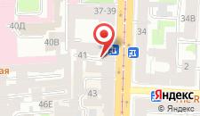 Отель SuperHostel на Литейном на карте