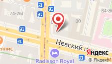 Отель NEO на Невском на карте