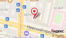 Отель Галерея на карте