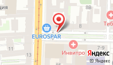 Гостиница Соло на Литейном проспекте на карте