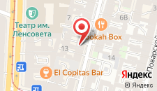 Отель Amadey Hotel & Spa на карте