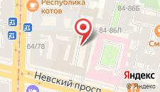 Гостиница Аделия на карте