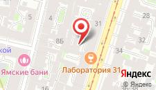 Отель Янина на карте