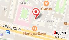 Отель Невский контур на карте