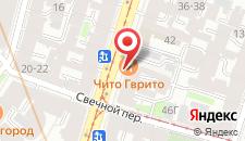 Апарт-отель Прайм на Марата на карте