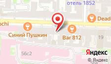 Мини-гостиница Алекс Отель на Жуковского на карте